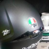 Stiker Pack Sticker Rossi Helm