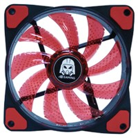 Promo Buy 1 get 1 Digital Alliance Orkaan 12cm Led Red-Fan case