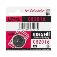 Baterai Kancing Micro Lithium Cell Maxell CR2016 (CR 2016)