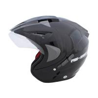WTO Helmet Pro-Sight Hitam Helm Open Face  WTO Helmet Pro-Sight Hitam