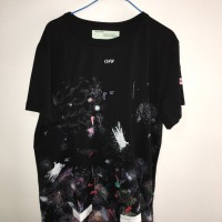 OFF WHITE Stain Print TEES
