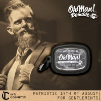 Oh Man! Baby Pomade Army Clay 45gr [with Oh Man! Case]