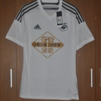 Original Swansea 2014 2015 Home Jersey Player Issue Adizero M