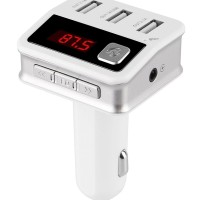 Charger USB Mobil-BC12 NEW VERSION Bluetooth FM Transmitter Radio