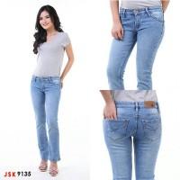 Celana Jeans Cutbray Wanita/Denim Panjang Bootcut Basic JSK JEANS