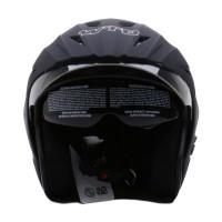 WTO Helmet Pro-Sight Hitam Doff Helm Half Face