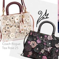 Coach Rogue 25 Tea Rose
