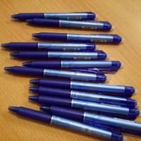 GROSIR!!! Pulpen Pen Frixion Pilot 0.5 BIRU ( Bisa Dihapus )