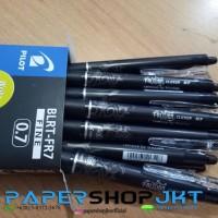 GROSIR!!! Pulpen Pen Frixion Pilot 0.7 HITAM ( Bisa Dihapus )