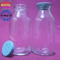 Botol kaca ASI Vial 100ml / Wadah PG VG Liquid Vape Vapor / Parfume