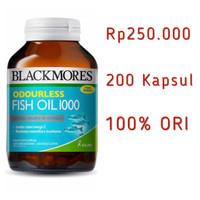 Blackmores Odourless Fish Oil 1000 - 200 kapsul
