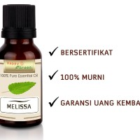 Happy Green Melissa Essential Oil (2 ml) - Minyak Essensial Lemon Balm