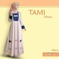 *TAMI MAXI,WOLFICE FASHION MUSLIM DRESS/BAJU TERUSA WANITA
