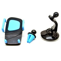 Termurah 2 in 1 Car Universal Holder with Windshield and Air Vent Mo