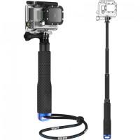 Termurah Metal Lid Pov Extendable Pole Monopod for GoPro / Xiaomi Yi