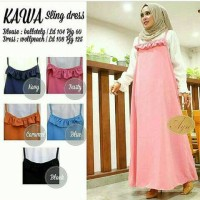 Kawa Sling Dress / Baju Muslim Murah
