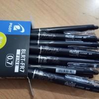 Pulpen Pen Frixion Pilot 0.7 HITAM ( Bisa Dihapus )