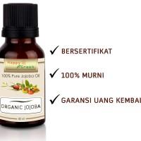 Happy Green Organic Jojoba Oil 80 mL- Minyak Golden Jojoba Cosmetic