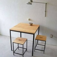 meja cafe set dengan kursi nya untuk rumah makan coffe shop ropang