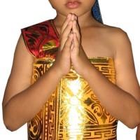 Baju Adat Bali Udeng / Pakaian Adat Bali Udeng Untuk laki - laki