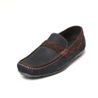 Sepatu Kulit Asli Pria |Drover - Black, Sepatu Kulit Moccasin