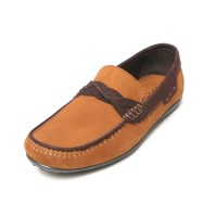 Sepatu Kulit Asli Pria |Drover - Tan, Sepatu Kulit Moccasin