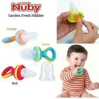 NUBY The Nibbler Mesh Fruit Food Feeder Jaring Makanan Buah Bayi 5450