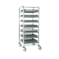 Troli Basket Dishwasher Stanless Steel - Basket Dishwasher Rack RTDB01