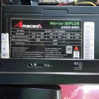Power Supply(PSU) Amacrox Warrior 80+ 500W