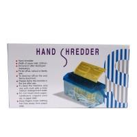 Alat Penghancur kertas Paper Hand Shredder Besar