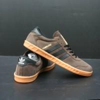 Sepatu Adidas Hamburg / Adidas Hamburg coklat hitam ( Sepatu Murah )