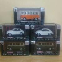 Diecast Real-X VW Samba & VW Beetle