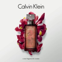 PARFUM ORIGINAL CALVIN KLEIN CK ETERNITY INTENSE WOMEN 100ML BPOM BOX