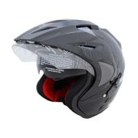 BIG NIGHT - WTO Helmet Pro-Sight Hitam Helm Open Face