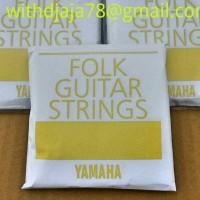 Senar Gitar Akustik Steel Original Yamaha Asli (Satuan) Senar no.5