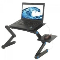 Termurah Portable Laptop Table with Mouse Desk Length 42cm - A-LD-42