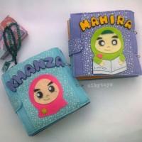 Mainan edukasi anak - busybook kain flanel