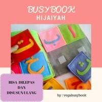 Mainan edukasi anak murah- busybook kain flanel