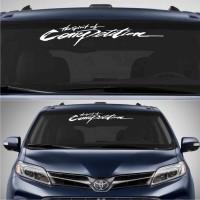 Sticker / Stiker Pintu Kaca Kap Mobil The Spirit of Competition 60 cm