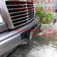 FRAME / TATAKAN / DUDUKAN PLAT NOMOR MOBIL MODEL TNI POLRI