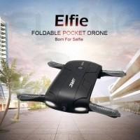 JJRC H37 Elfie Folding Drone Quadcopter Hitam