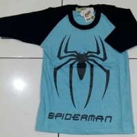 Kaos Couple Family Spiderman (Uk 4-10)