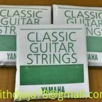 Senar Gitar Akustik Nylon Original Yamaha Asli (1set)
