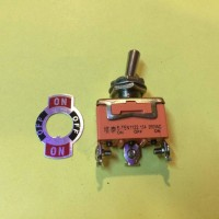Toggle Switch 3 Kaki ON-OFF-ON 15A 250VAC Premium