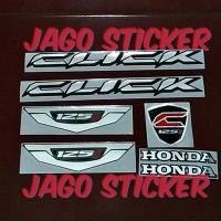 Sticker / Stiker Emblem New Click Vario Fi 150 - 150i