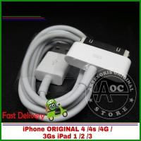 kabel data iPhone 4 4s 4G 3Gs Ipad 1 2 3 original 100% Micro USB