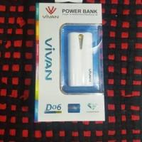 POWER BANK VIVAN D06 6000 MAH