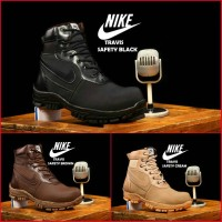 Sepatu Nike Travis Boots Pria Safety Ujung Besi