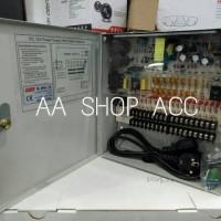 POWER SUPPLY BOX 12V 30A CCTV HIGH QUALITY POWER SUPPLY AC TO DC CCTV