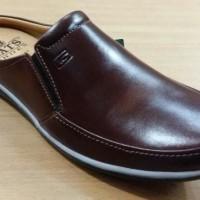GATS SHoes Sepatu Kulit Pria Original PU 7762 Brown